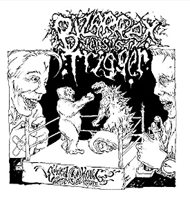streaks records Skin Popping IV Drug Use 2 times true drum n bass powerviolence from germany 6 tracks by bizarrex the veterans of oldschool powerviolence vs 9 tracks from the trigger youthcrew